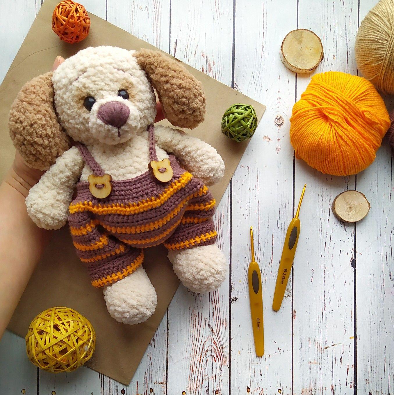 Plush Beige Teddy Dog Crochet Dog Stuffed Toy Etsy Crochet Teddy Bear Pattern Crochet Dog Patterns Crochet Teddy Bear [ 1356 x 1355 Pixel ]