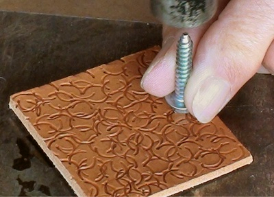 Photo of Stamping leather