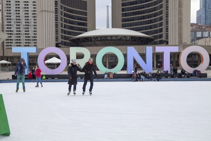 toronto s ice skating rinks a photo essay ice signs and toronto toronto s ice skating rinks nathan phillips square toronto sign