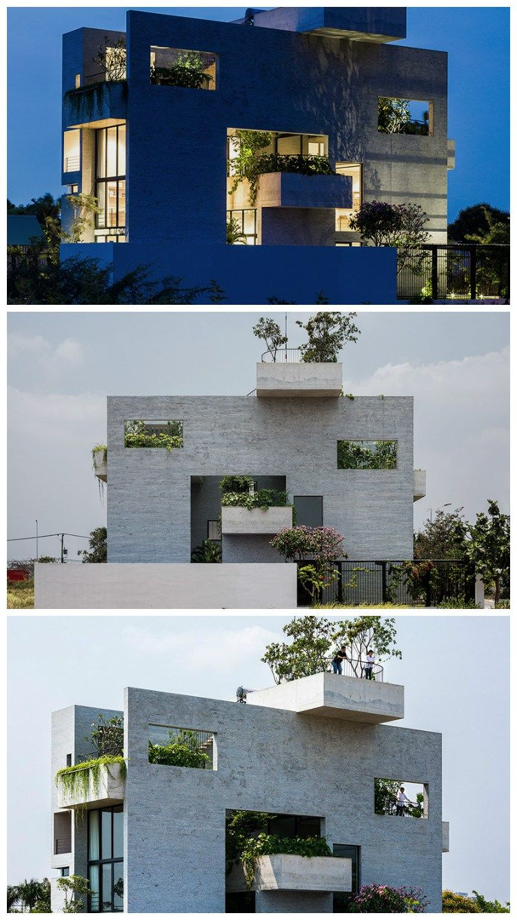 Binh House Modern Residential Architecture Styles Of House For
