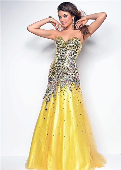 promerz.com yellow prom dresses (11) #promdresses | Dresses ...