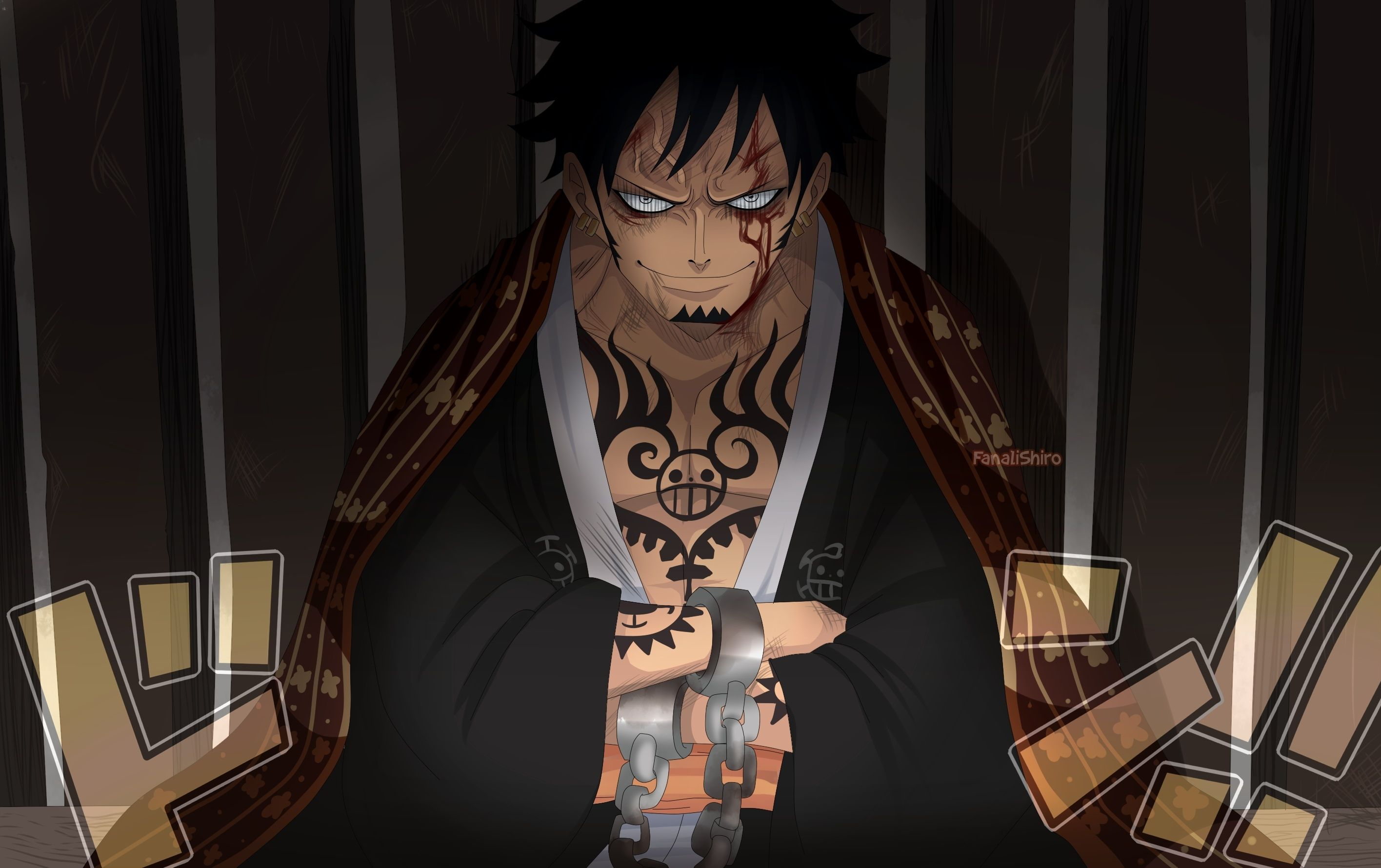 One Piece Hd Wallpaper Black 3d Wallpapers