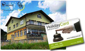 Hotel DIANA Vás upúta výnimočným prostredím s veľkým množstvom ručných rezieb slovenských umeleckých rezbárov, rodinnou atmosférou, príjemným personálom a vysokým štandardom služieb za výborné ceny. Náš hotel leží na úpätí hôr Kysuckej vrchoviny a národného parku Malá Fatra, ktorý ponúka široké možnosti rekreácie, športu a množstvo turistických trás pre náročných aj menej zdatných turistov vo všetkých ročných obdobiach.