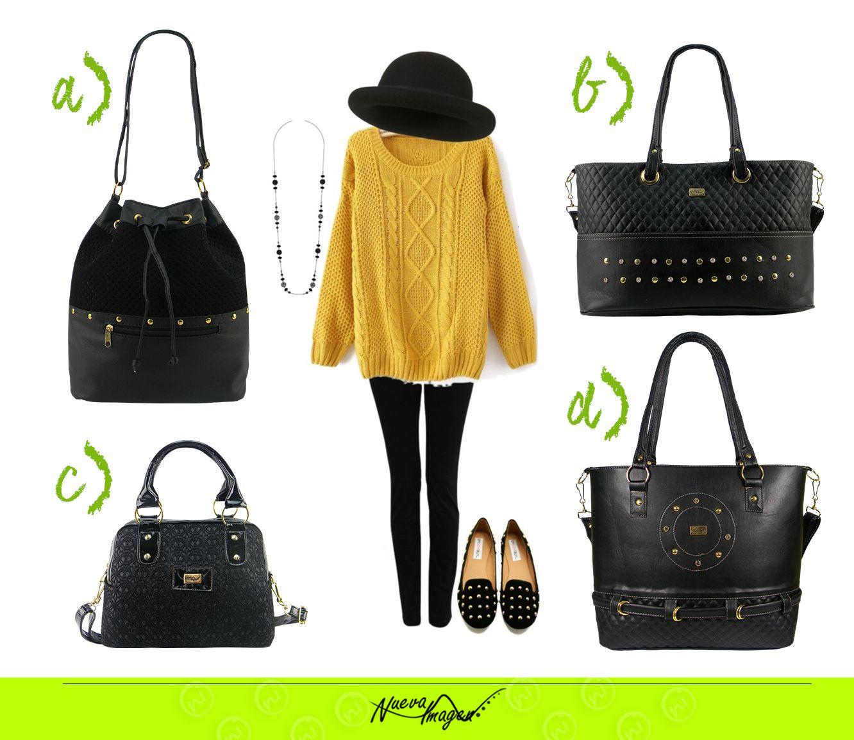 ¿Cuál #BolsaNuevaImagen usarías con este outfit?