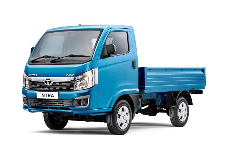 Tata Intra V20 Price Specs Mileage Images Trucksbuses Com Compact Trucks Commercial Vehicle Tata Motors