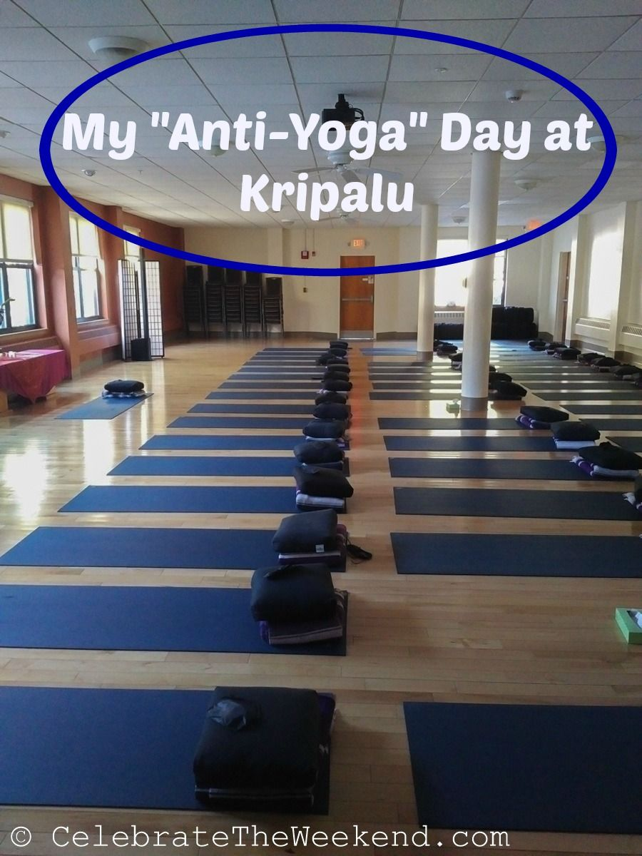 My day of recharge at kripalu yoga and health center at
