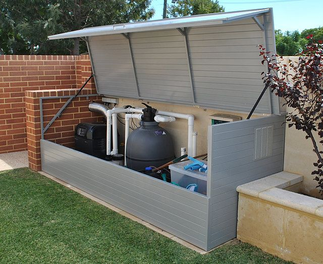 One of our Cubbyhouses Fence \ backyard Pinterest Pool - abri local technique piscine