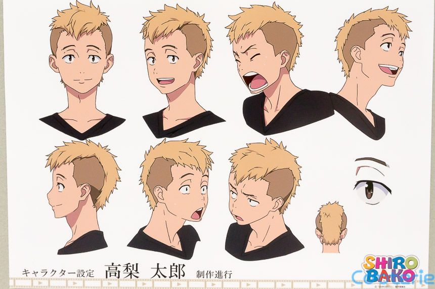 Shirobako Character Model Sheets Anime Character Design Character Model Sheet Character Design Male