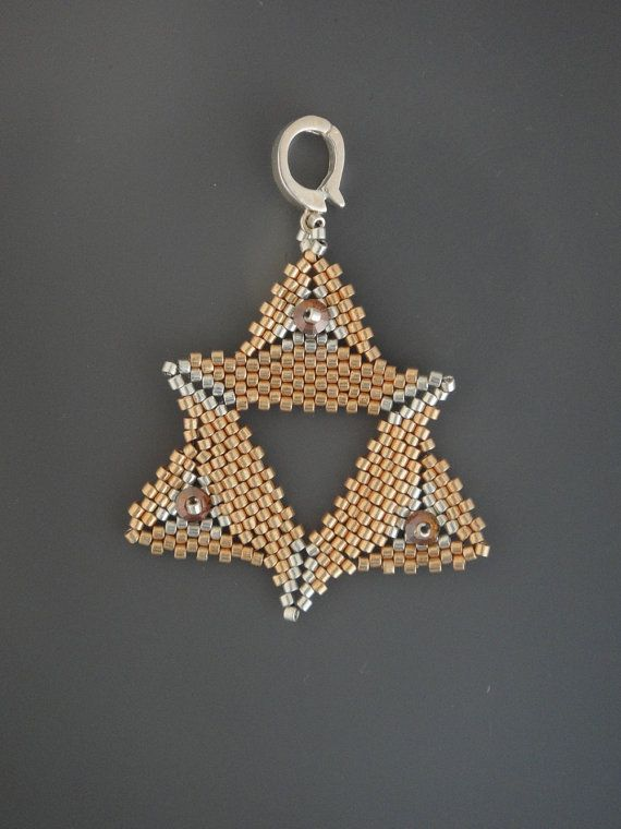 My Golden Star Pendant. $15.00, via Etsy.