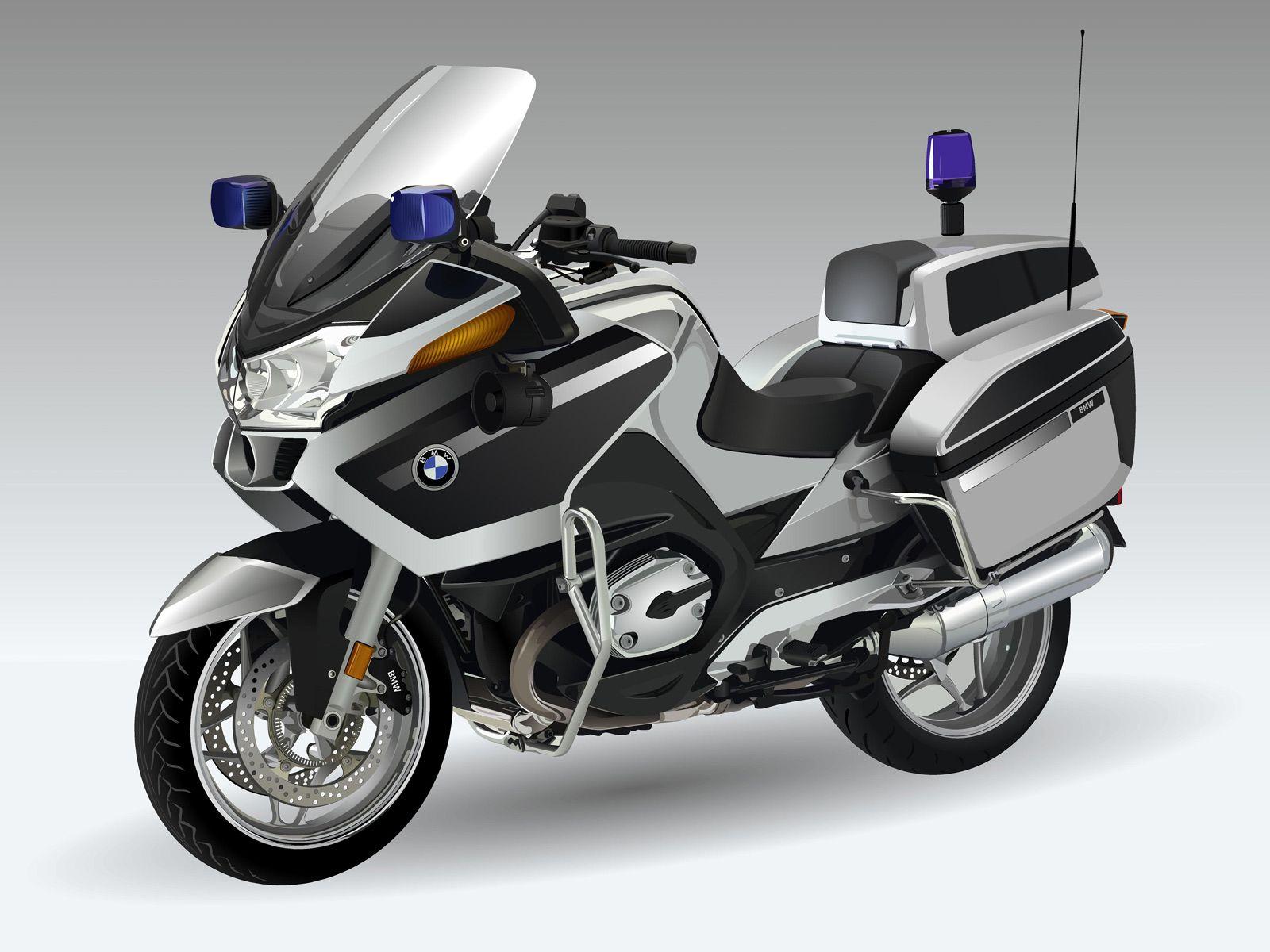 bmw police motorcycle [ 1600 x 1200 Pixel ]
