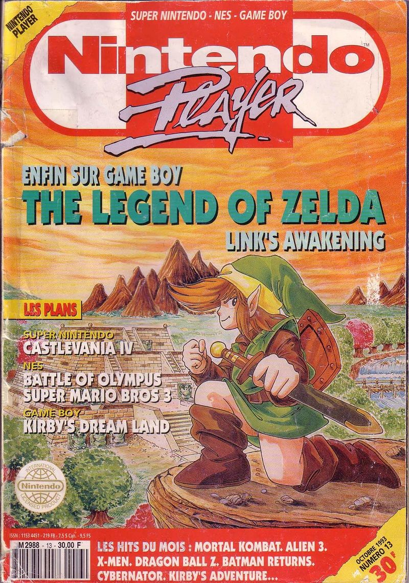 Nintendo Player French Magazine Issue N 13 October 1993