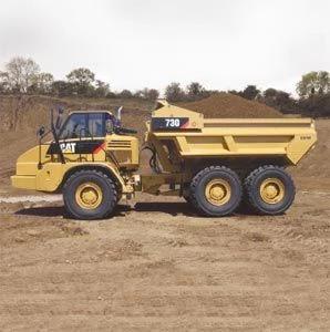 Caterpillar 730 Ejector Truck Service Repair Manual Articulated Trucks Trucks Parts Catalog