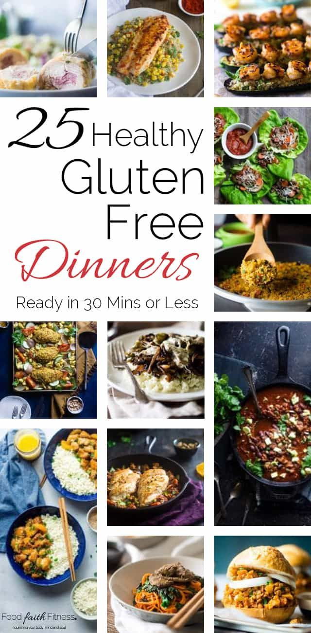 25 easy healthy 30 min meals | food faith fitness images