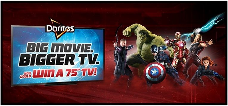 Doritos is getting you pumped up for the Avengers: Age of Ultron movie with the chance to win a 4-pack of tickets to see the movie. The prize will be awarded as a Fandango Promotional …