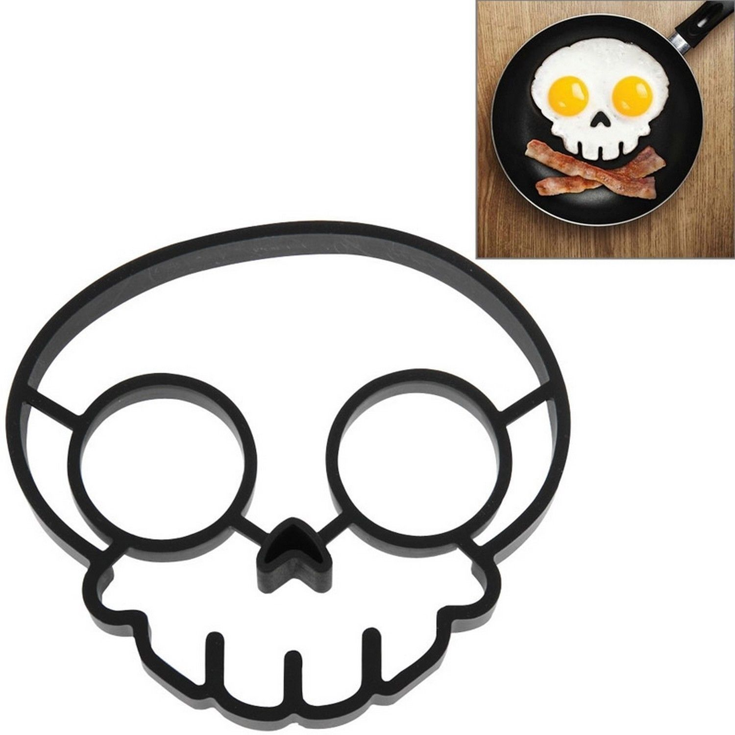Fried egg #transformer silicone #skull #skull shaper fried egg ...