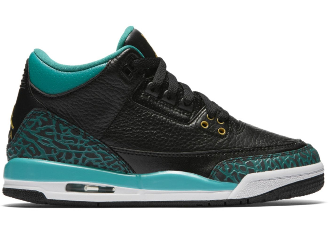 finest selection fead4 4c7cd Check out the Jordan 3 Retro Rio Teal (GS) available on ...