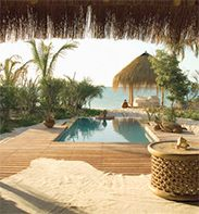 Azura--the perfect honeymoon property in Mozambique.
