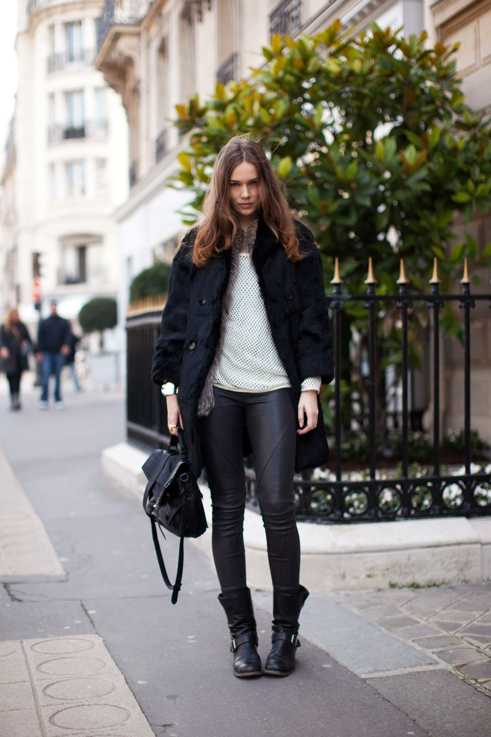 Incredible Leather Leggings with Boots : Stunning Leather Leggings ...
