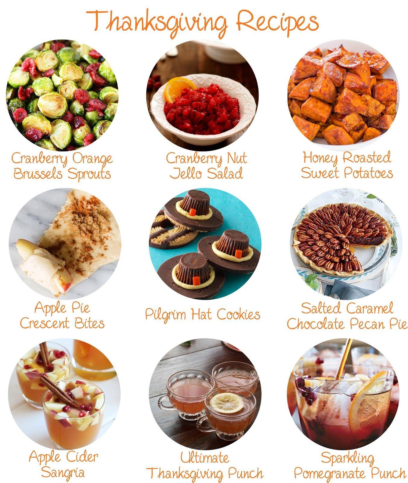 Recipes, Thanksgiving Recipes