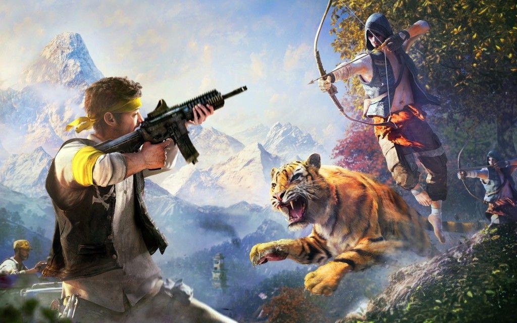 Far Cry 4 Ps4 Wallpaper Far Cry 4 4 Wallpaper Y Fondos De