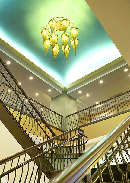 Alternate Resources   Hotel Design   By Tammy Miller   Hilton Garden Inn    Stairs