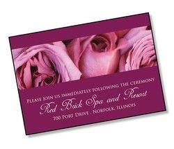 3.5x5 Wedding Enclosure Card 25