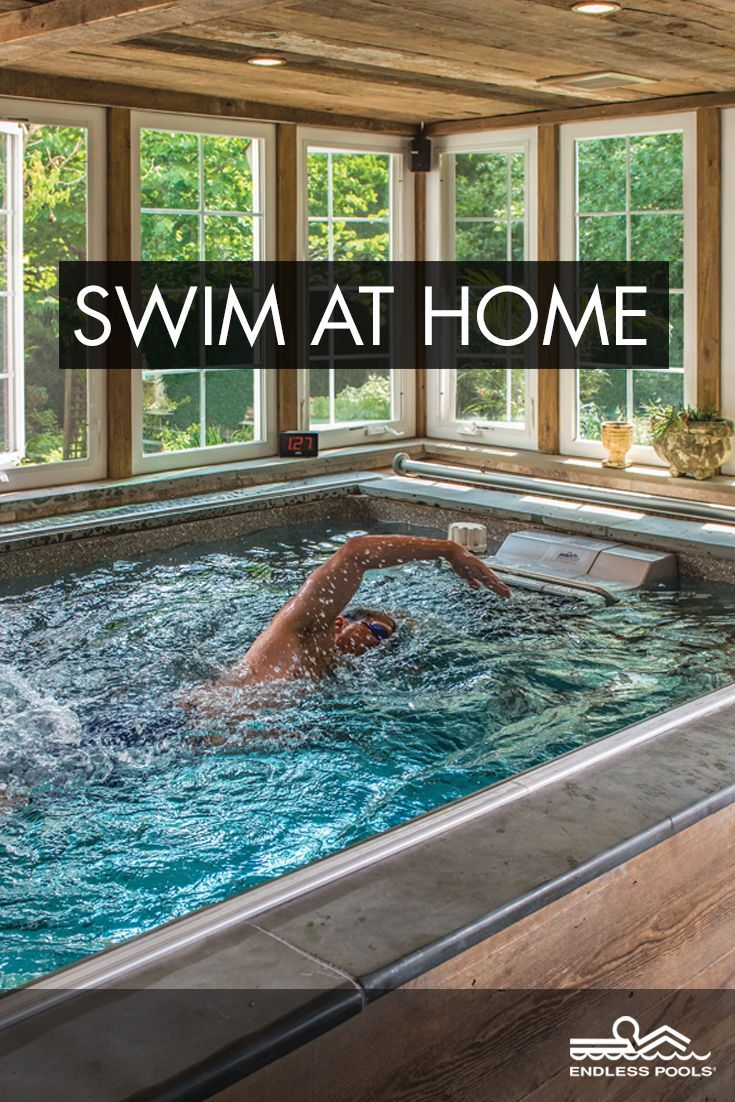 Pool with current to swim against - No Traveling No Crowded Pools No Heavy Chlorine Just Your Own Precision Engineered Swimming Pool Where You Swim Or Exercise Against A Smooth Current