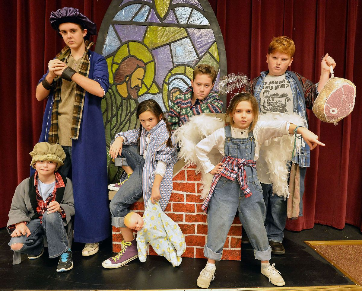 Christmas Pageant.Cast Presents All Kids Production Of Best Christmas Pageant