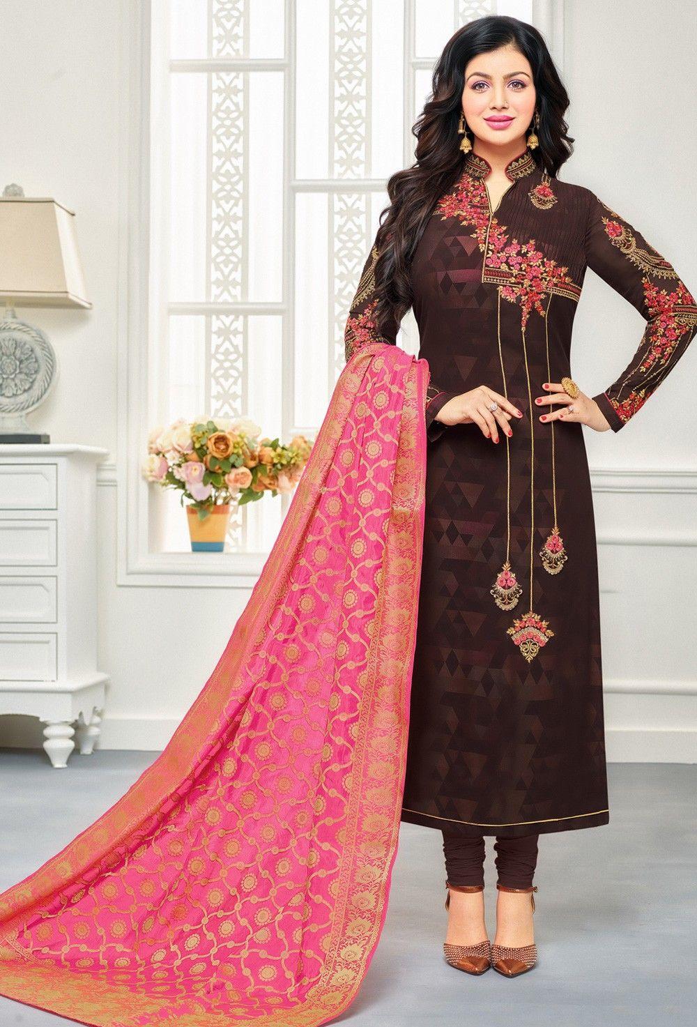 New Trend Of Winter Fall Latest Salwar Kameez Designs 2019