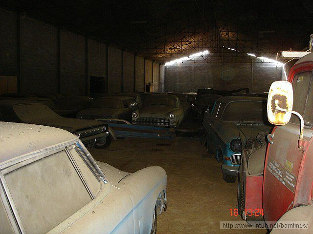An Abandoned Warehouse Full Of 180 Priceless Cars Found In Portugal