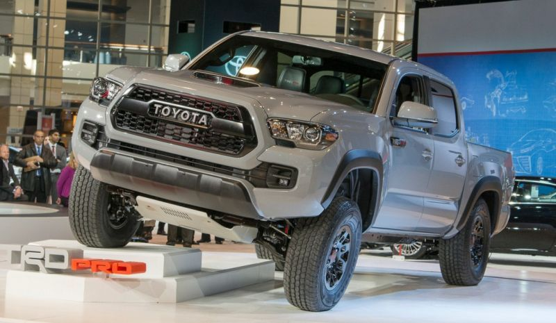 2017 Toyota TRD Pro Release Date Toyota