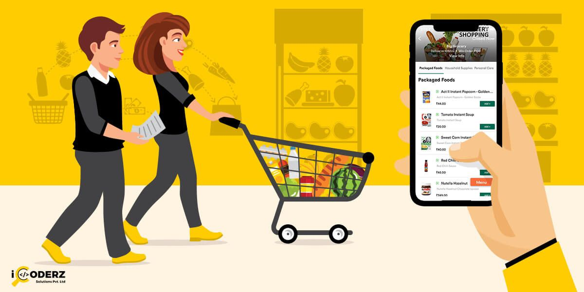 Cost To Develop A Grocery Delivery App Like Instacart And
