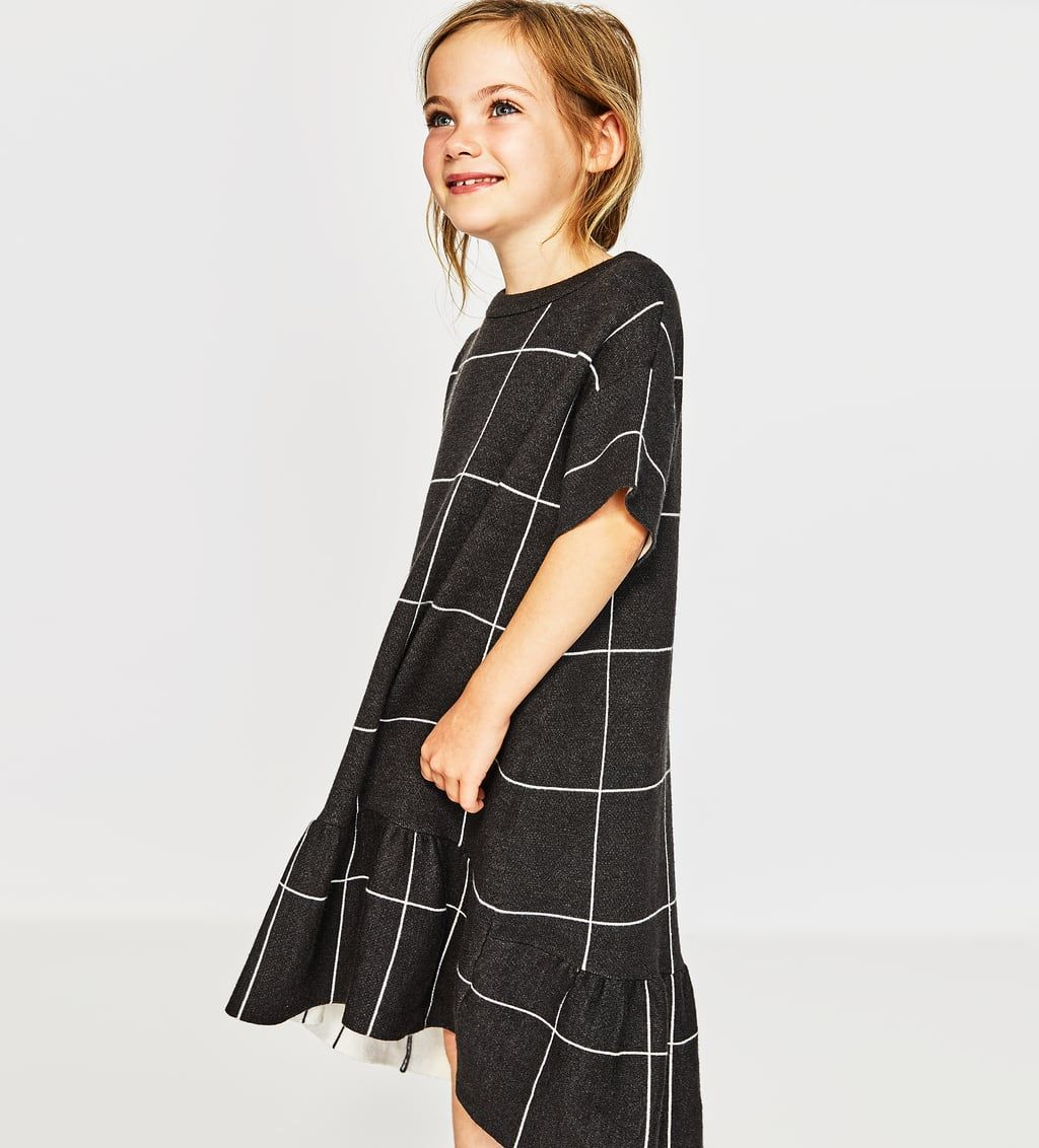 5d524b964 RUFFLED KNIT DRESS-DRESSES AND JUMPSUITS-GIRL