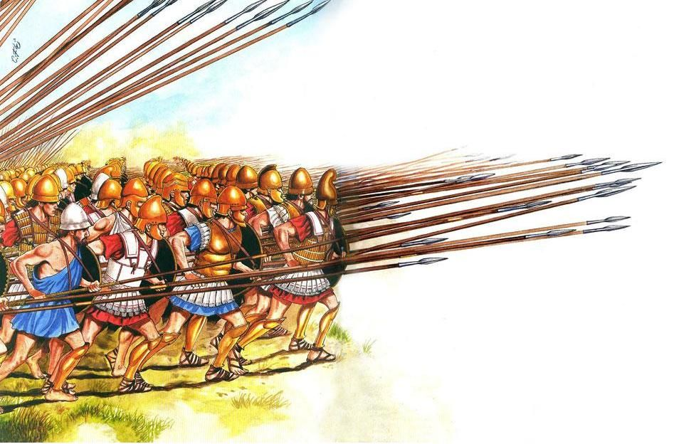 Фаланги александра македонского картинки