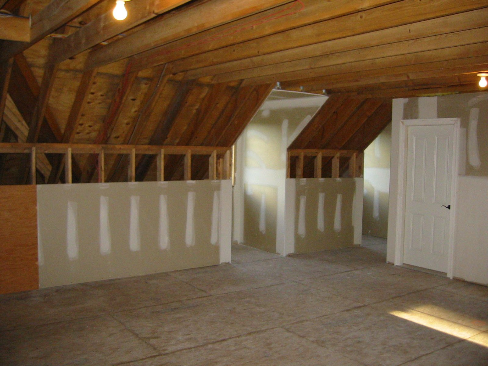 Remodeling unfinished attic space can be a great way to add value to
