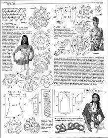 Irish crochet &: ZHURNAL MOD 507                                                                                                                                                                                 More