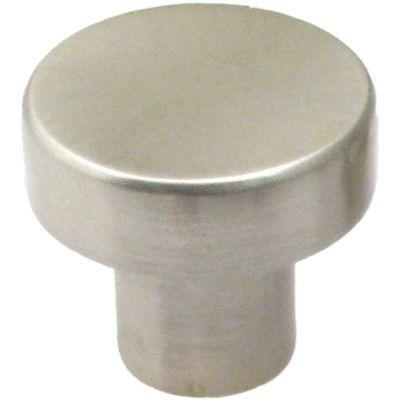 """Rusticware Mushroom Knob Size: 1.12"""" H x 1.12"""" W x 1"""" D, Finish: Satin Nickel"""