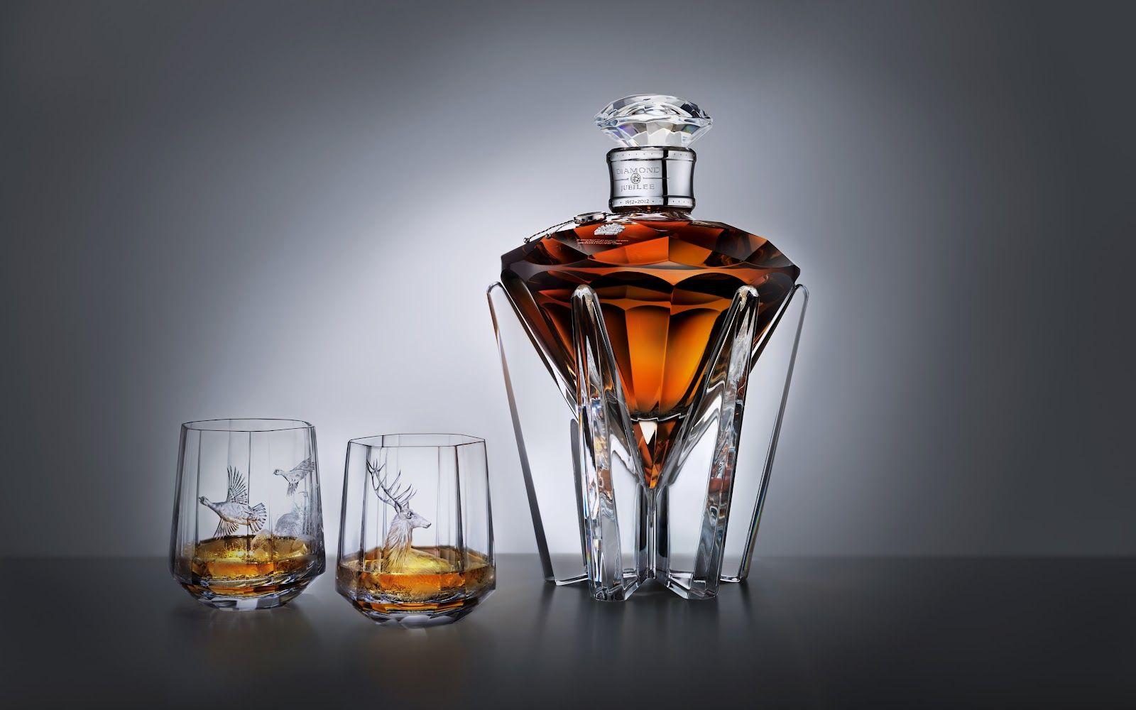 Johnnie Walker S Diamond Jubilee Whisky Bottle Whisky Cigars And Whiskey