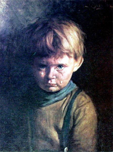 crying house boy