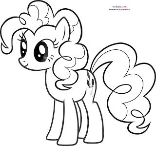 My Little Pony Pinkie Pie Coloring Pages Crafts For Kids My