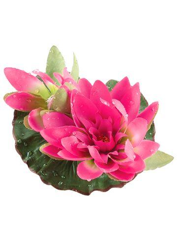 Artificial Lotus Flowers Silk Floating Lotus Flowers Silk Flowers