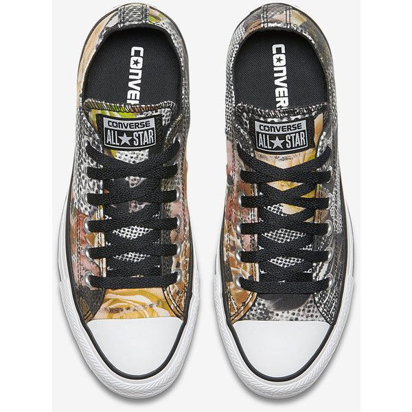 ae1bc2ab400e1a Converse Chuck Taylor All Star Floral Low Top Women s Shoe. Nike.com (450  NOK) ❤ liked on Polyvore featuring shoes