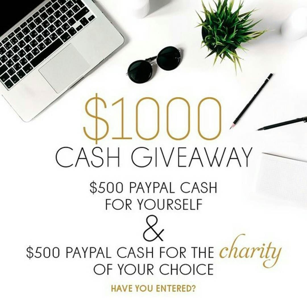 HAVE YOU ENTERED?  . This is your chance to not only win for yourself but to give a little back too. Double the happiness!  . One very lucky winner will win $1000; $500 for themselves & $500 to donate to their favourite charity!!  . . Enter via original post. Good luck everyone