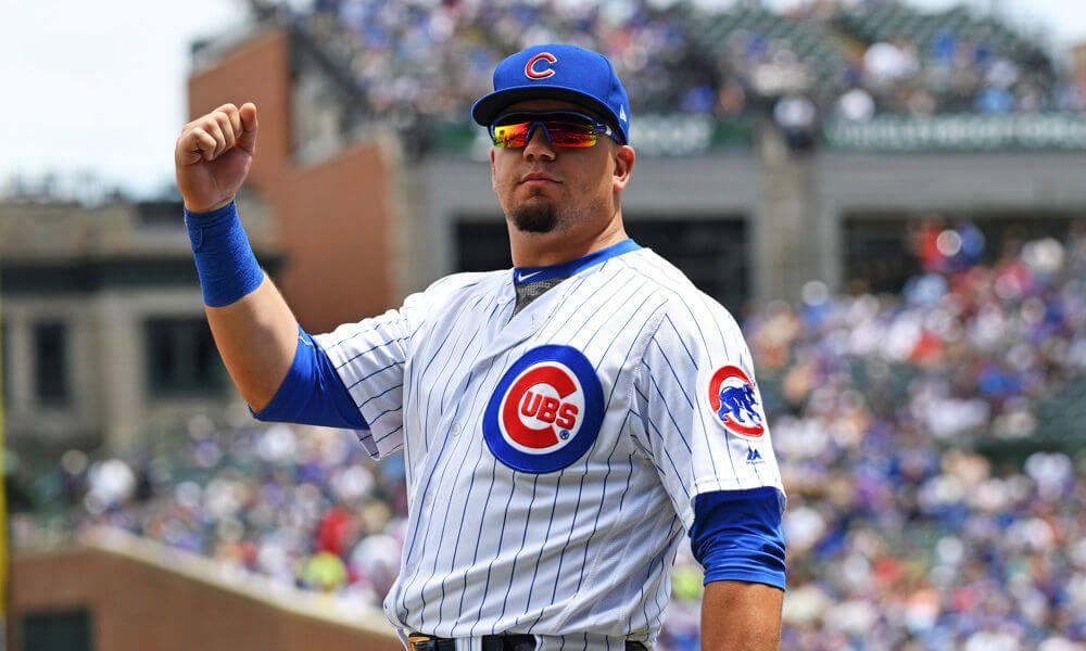 Heyman Kyle schwarber, Cubs, Chicago cubs