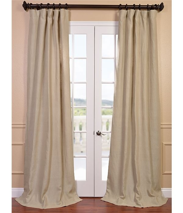 Get Hemp French Linen Curtain Drapes Half Price Drapes Curtains Panel Curtains