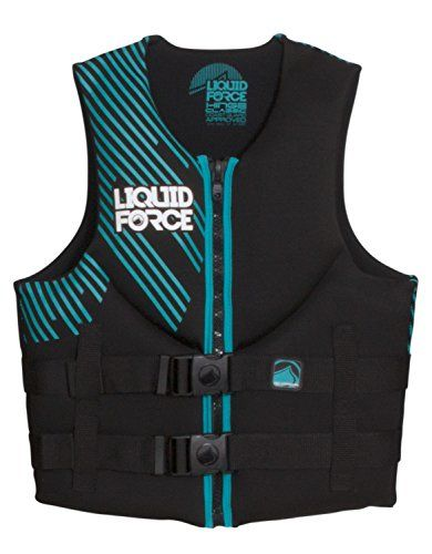 Liquid Force Womens Vest Blackteal L 4044 Click On The Image