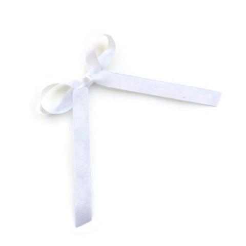 White Wendy Bow