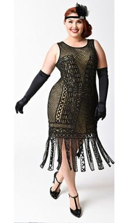 Thank you Plus size gothic nude