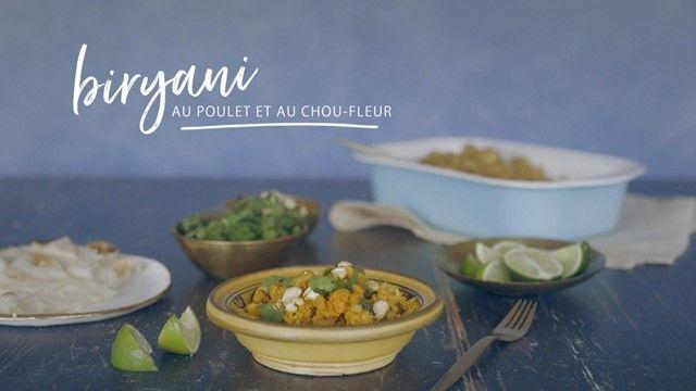 Biryani Au Poulet Et Au Chou Fleur A Congeler Dairy Free Recipes
