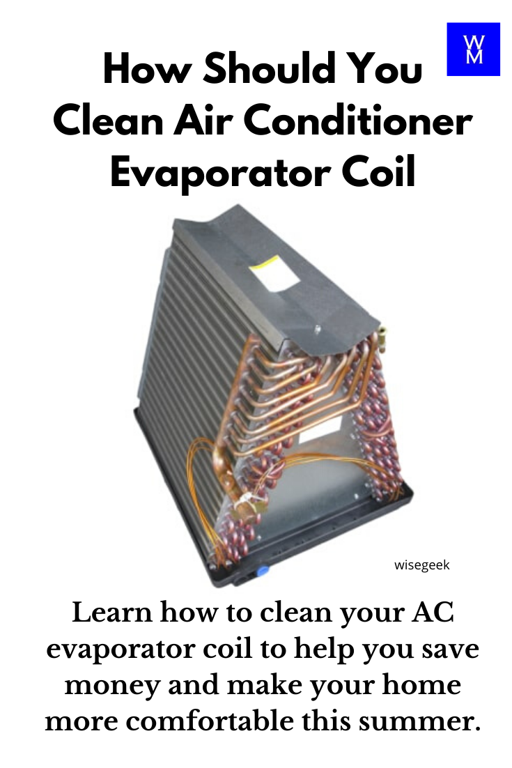 How Should You Clean Air Conditioner Evaporator Coil in
